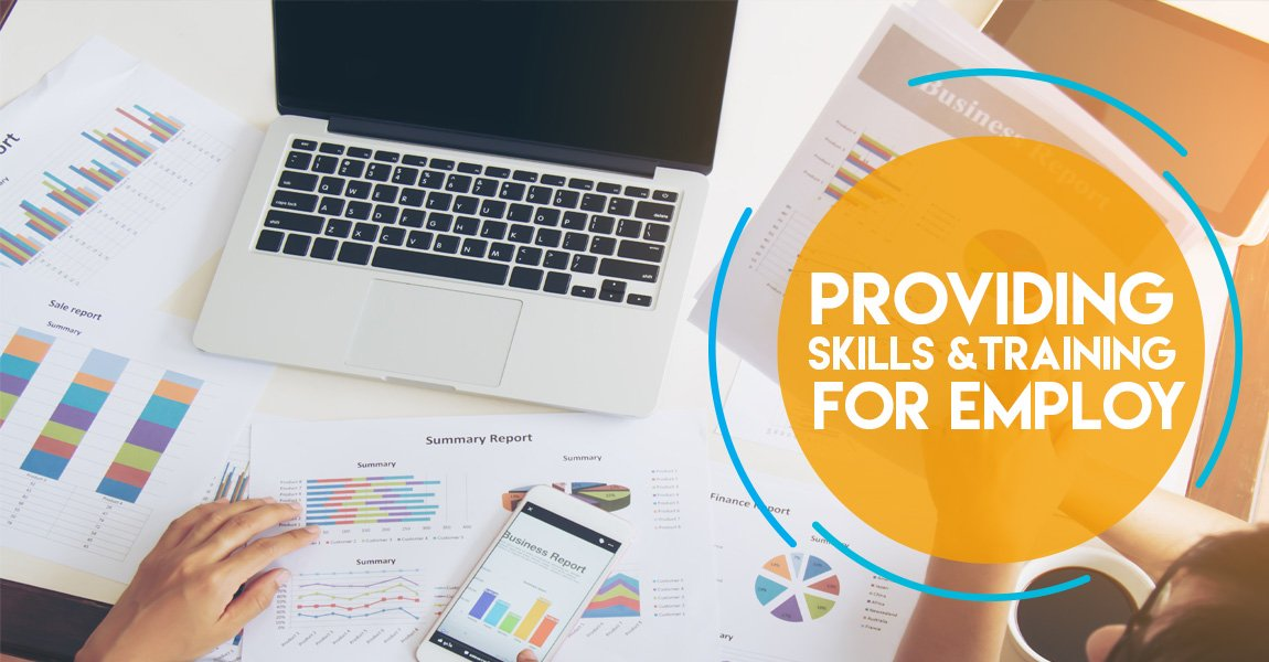 providing skill & training for employt